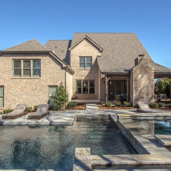 Pool, new homes home builder, Franklin, TN, Brentwood, Arrington & Thompson Station, new construction and custom home design.