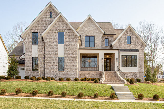 beautiful new custom home in thompson station tn near franklin and brentwood from a nashville home builder