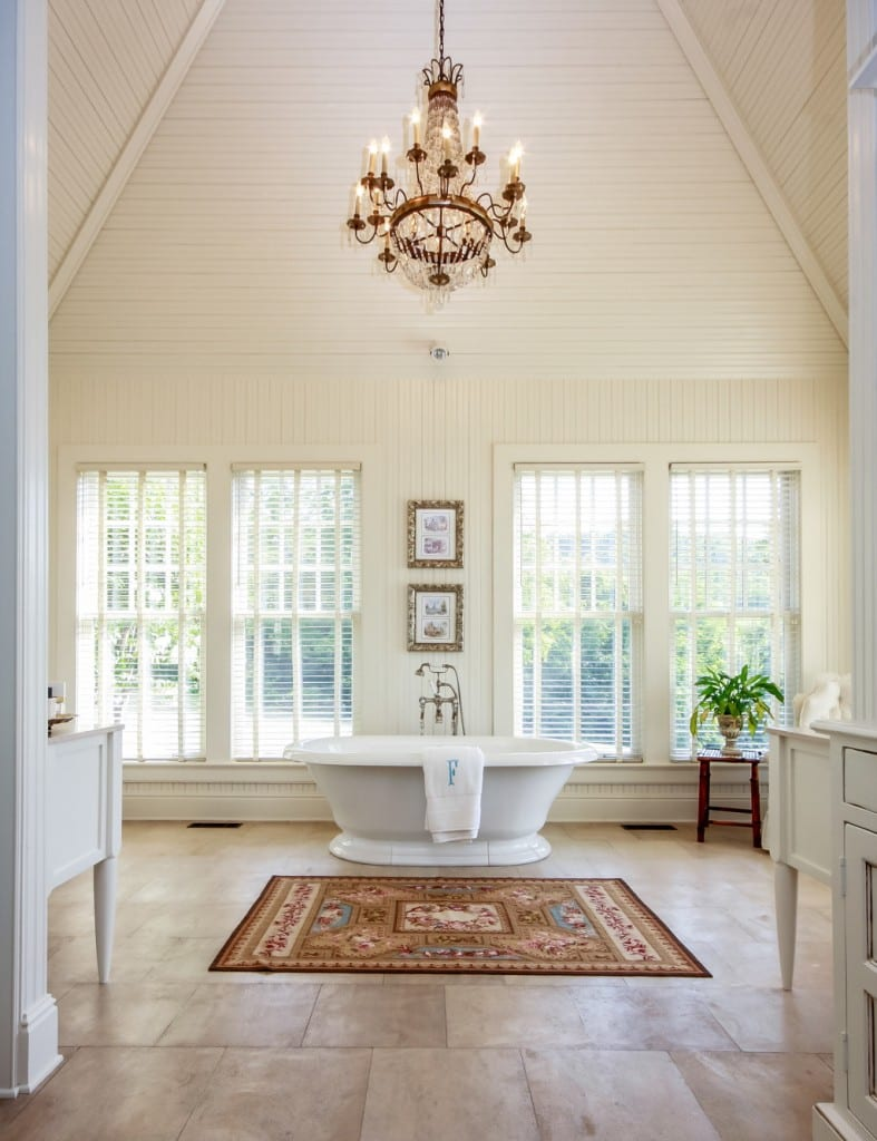 Peytonsville Road master bath, new homes in Brentwood, TN and Franklin, TN, home builder new construction and custom homes - Tennessee Valley Homes.