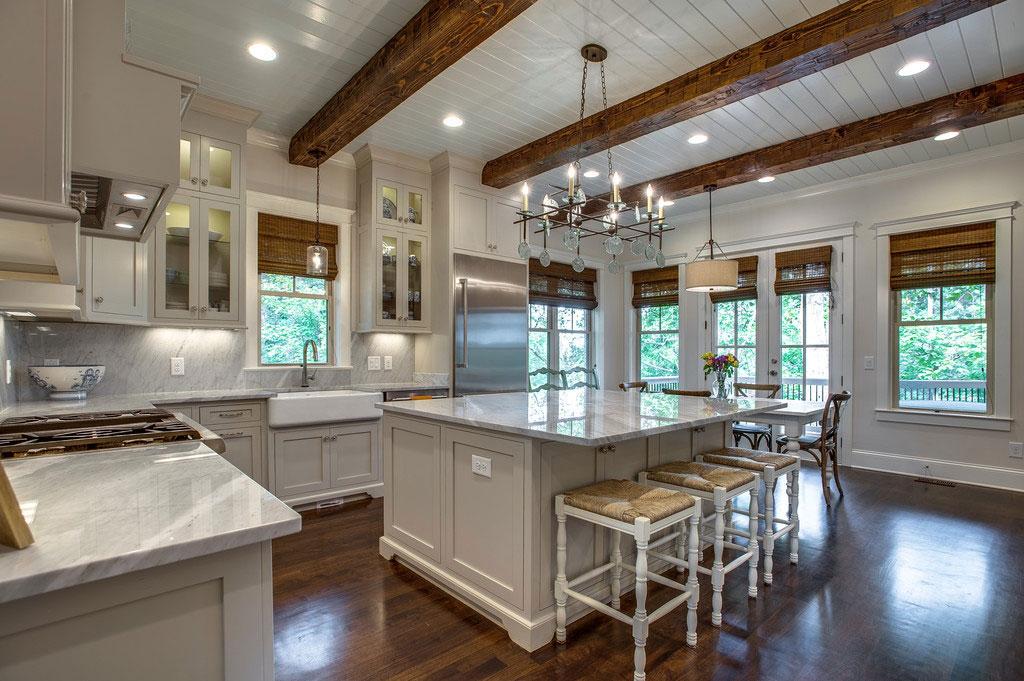 Kitchen custom home builder for franklin tn brentwood for Style kitchen nashville tn