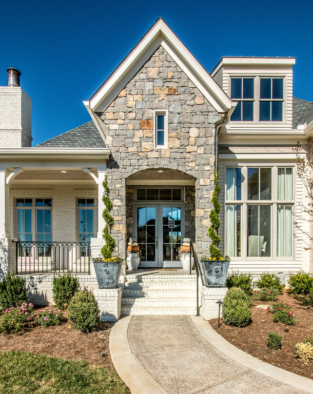 ... Home Exterior Custom Home Design And New Homes Brentwood, TN, Franklin,  Thompson Station ...