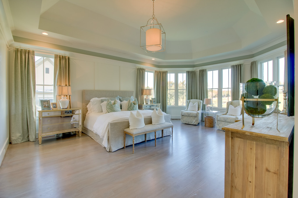 Custom home design bedroom, new homes in Brentwood, TN, Franklin and Arrington, new construction and custom homes.
