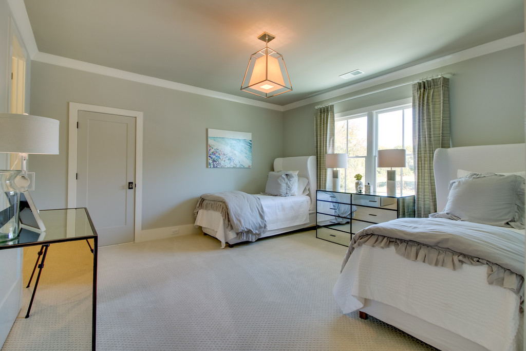 Bedroom, new homes in Brentwood, TN, Franklin and Arrington, new construction custom homes and custom home design.