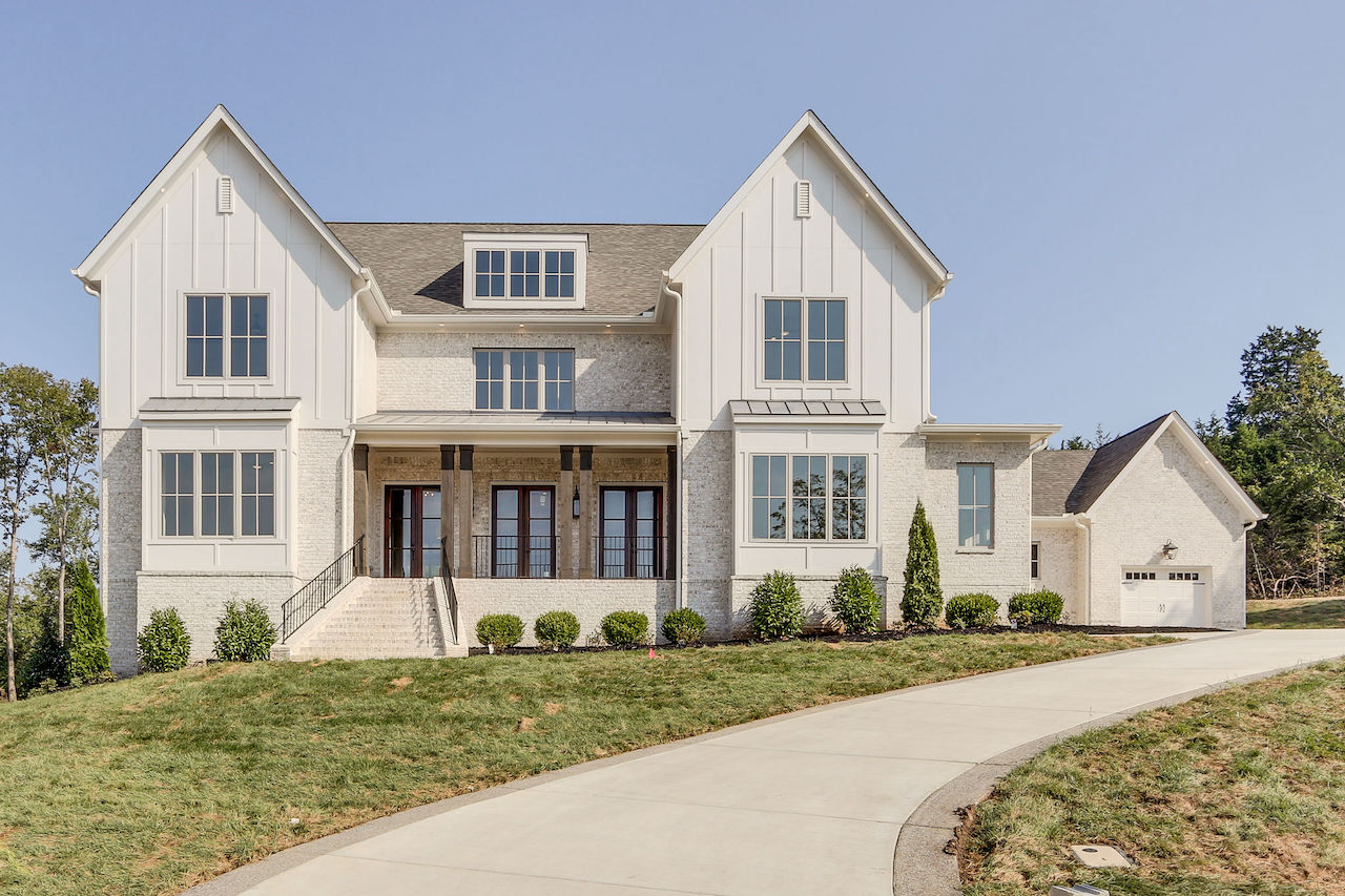a new constructed home in franklin tennessee in the trinity community