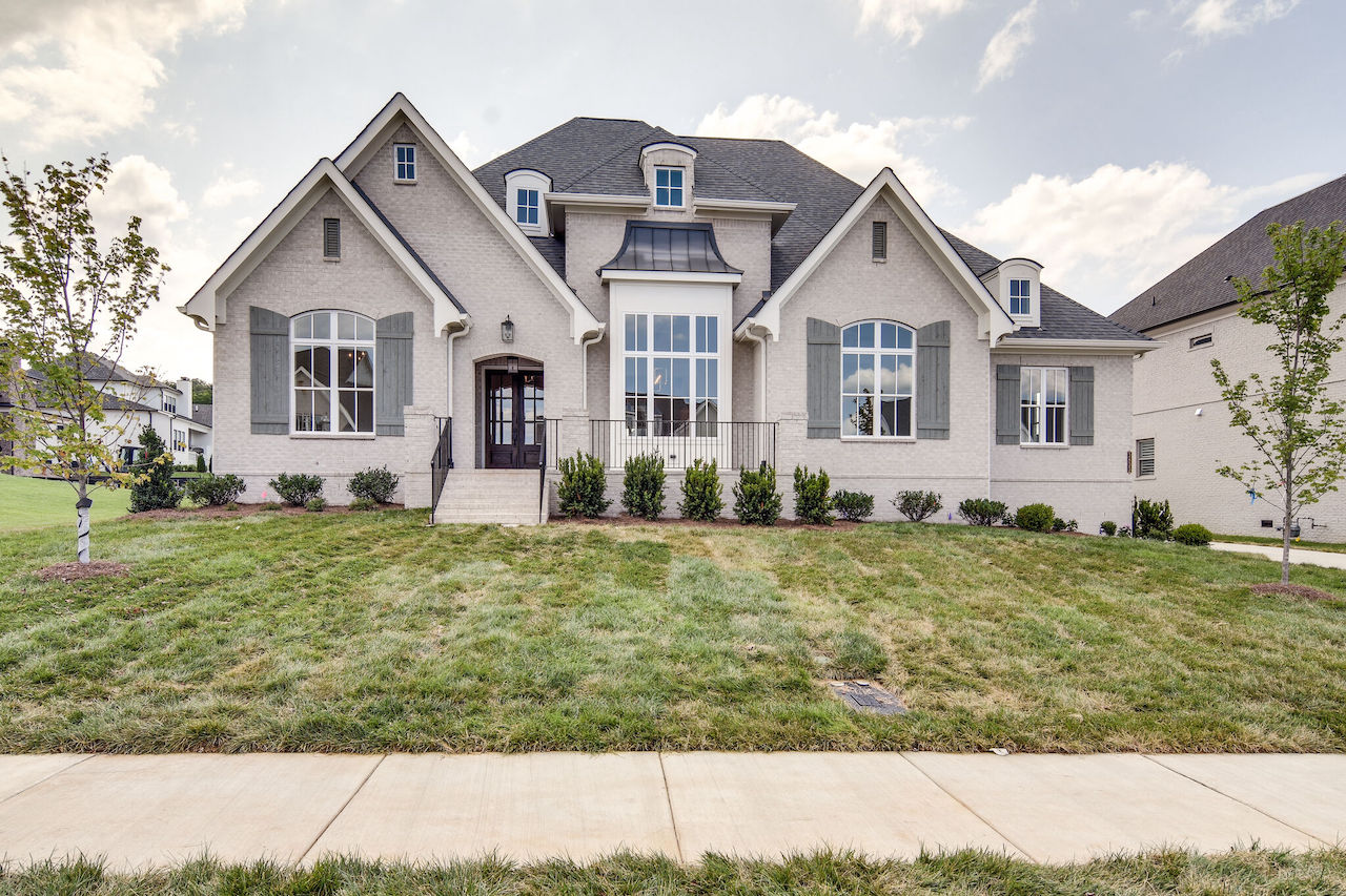 Two story home that was built in Thompson Station TN