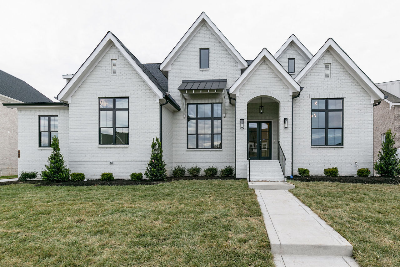 Two story house from Nashville home builders for new construction in Brentwood TN