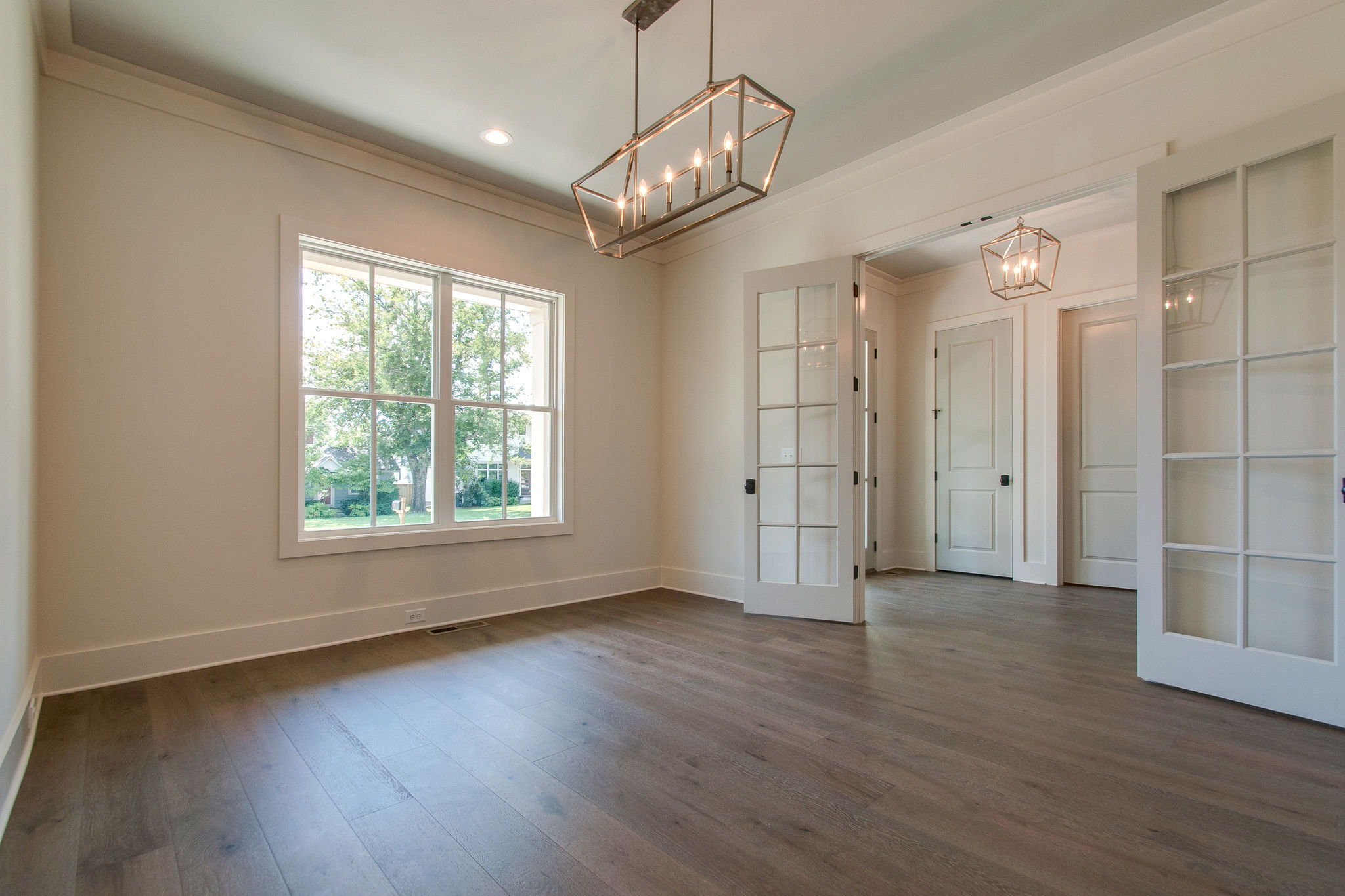 New Homes with french doors in Franklin, Brentwood, and Thompson Station TN with Custom Home Design