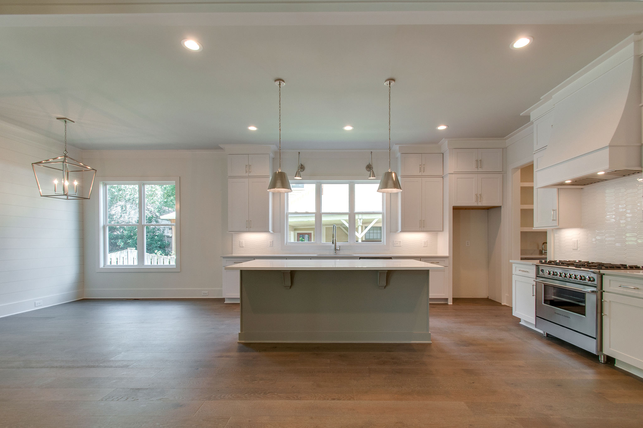 New Homes with open space kitchen v2 in Franklin, Brentwood, and Thompson Station TN with Custom Home Design
