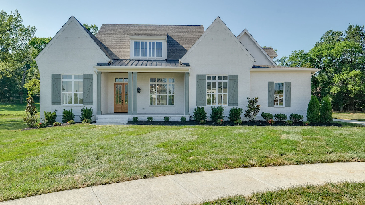 a new constructed home in franklin tennessee for the trinity community