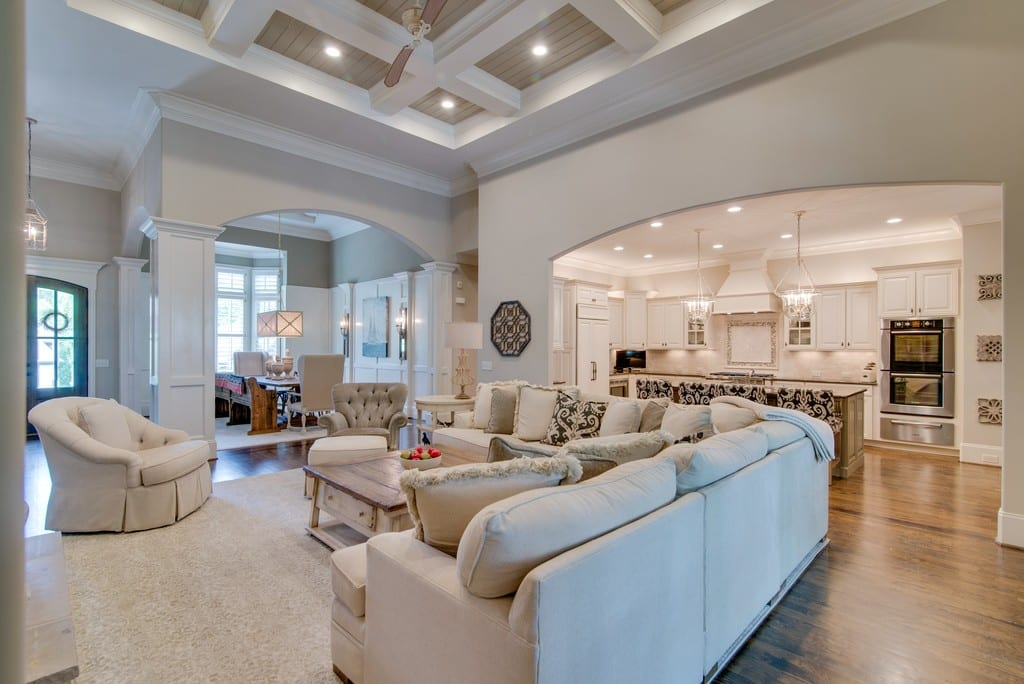 Custom home living, home builder in Brentwood, TN, Franklin, TN, Thompson Station and Arrington, TN for custom homes, new homes and new construction.